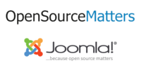 Joomla Open Source Matters Logo