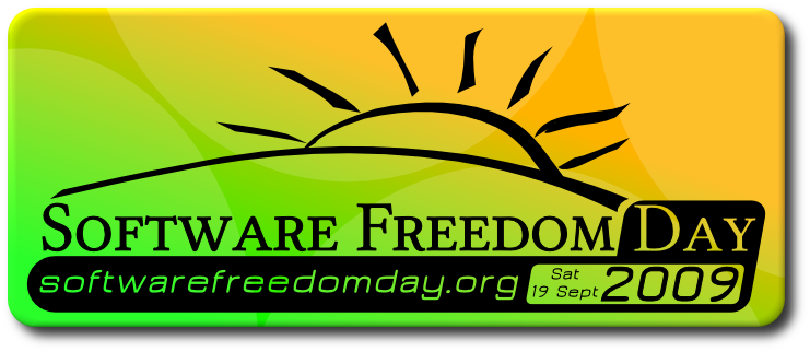 Software Freedom Day 2009 logo